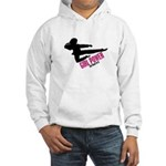 Girl Power 3 Karate Hooded Sweatshirt