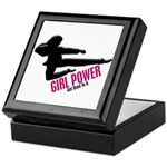 Girl Power 3 Karate Keepsake Box