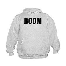 BOOM black-text Hoodie
