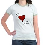 I love Allen Jr. Ringer T-Shirt