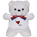 I love Allen Teddy Bear