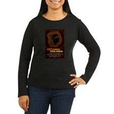 Women's Long Sleeve Dark Hidden Colors T-Shirt