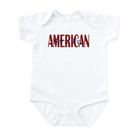 American Born Free Infant Creeper