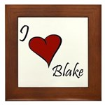I love Blake Framed Tile
