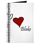 I love Blake Journal