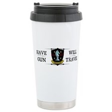 Have Gun Ceramic Travel Mug