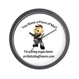 Bully- Donor Wall Clock