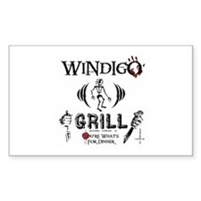 Wendigo or Windigo Grill Decal