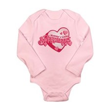Mommy's Sweetheart Long Sleeve Infant Bodysuit