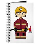 Cute UK Firefighter Journal