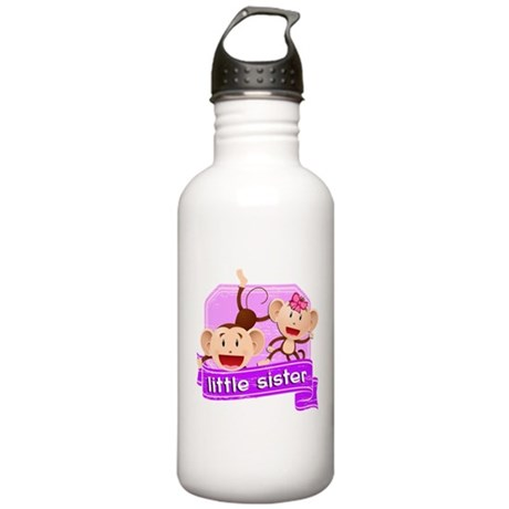 Little Sister Monkey Stainless Water Bottle 1.0L