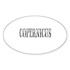 Cute Copernicus Decal