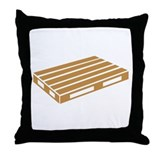Pallet Throw Pillow