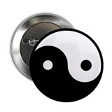 "Yin Yang 2.25"" Button (10 pack)"