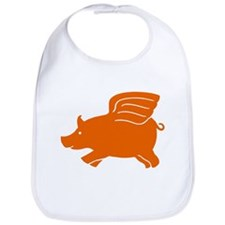 Flying Pig Bib