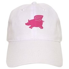 Flying Pig Baseball Cap