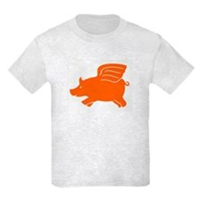 Flying Pig Kids T-Shirt