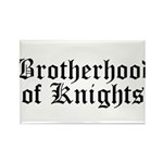 Brotherhood of Knights Rectangle Magnet (10 pack)