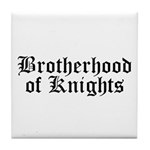 Brotherhood of Knights Tile Coaster