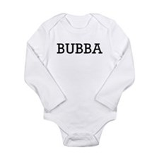 Bubba Long Sleeve Infant Bodysuit