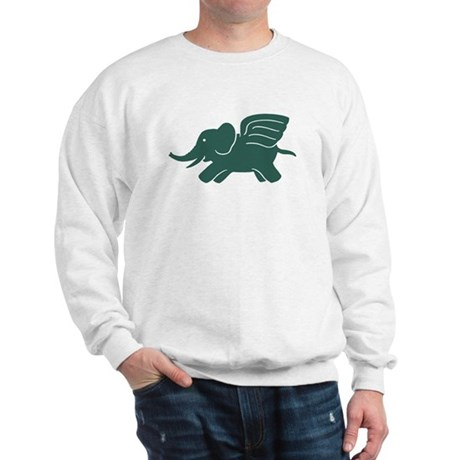 Flying Elephant Sweatshirt