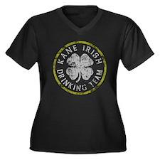 Kane Irish Drinking Team Women's Plus Size V-Neck