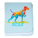 Vizsla on Point Gifts baby blanket