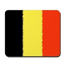 Flag of Belgium Mousepad