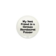My Best Friend is a German Sh Mini Button (10 pack