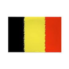 Flag of Belgium Rectangle Magnet