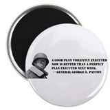 Patton - A Good Plan 2.25&quot; Magnet (100 pack)