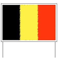 Flag of Belgium Yard Sign