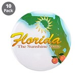"Florida 3.5"" Button (10 pack)"