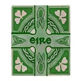 Irish Symbols Throw Blanket