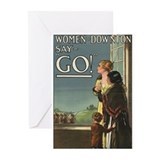Downtown abbey Greeting Cards