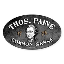 Thomas Paine - Common Sense Decal