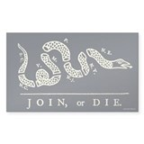 Join or Die Decal