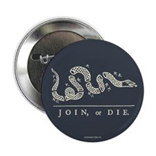 "Join or Die 2.25"" Button (100 pack)"