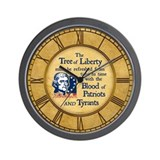 Thomas Jefferson Tree of Liberty Wall Clock