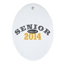 Senior Class of 2014 Ornament (Oval)