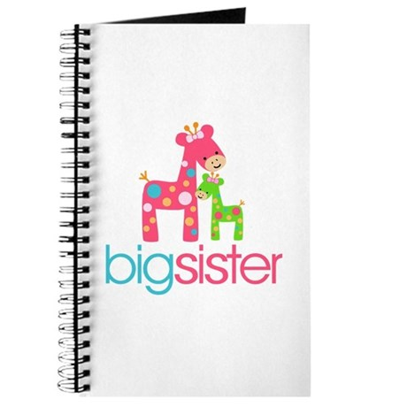 Funky Giraffe Big Sister Journal
