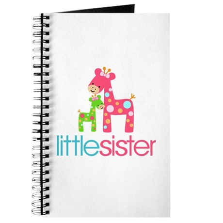 Funky Giraffe Little Sister Journal