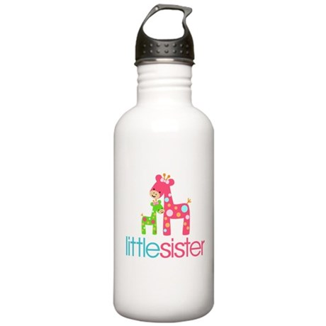Funky Giraffe Little Sister Stainless Water Bottle
