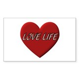 LOVE LIFE EVERYDAY Decal