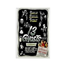 13 Ghosts Retro Vintage Horror Film Poster Magnet