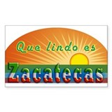 Lindo Zacatecas Decal