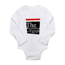 The revolution of Egypt 1 Long Sleeve Infant Bodys