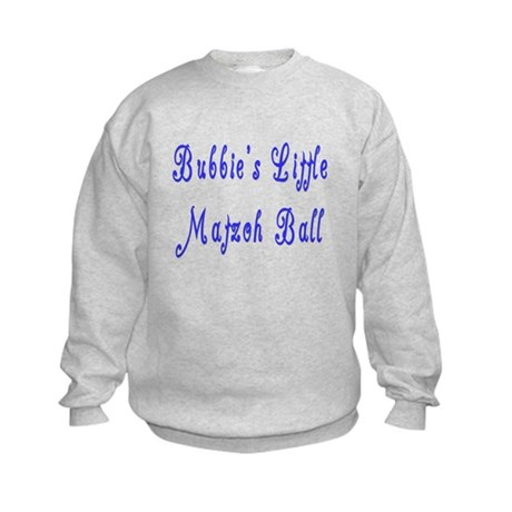 Little Matzah Ball Kids Sweatshirt