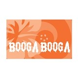 Booga Booga Wall Decal