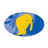 Manatee Wall Decal